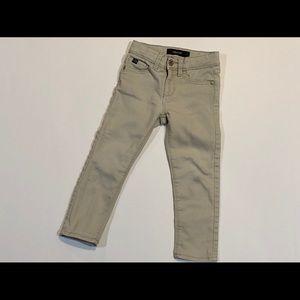 Cream colored Jordache skinny jeans
